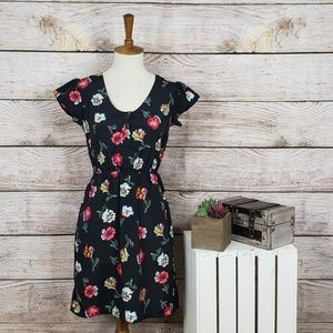 Tucker for Target Floral Button Dress XS